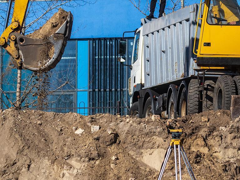 Maszyna budowlana